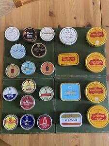 Collectable vintage tobacco tins.