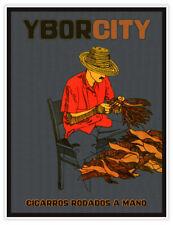 YBOR CITY Cigars of Tampa, Florida - Cigarros Rodados a Manos - Travel Poster