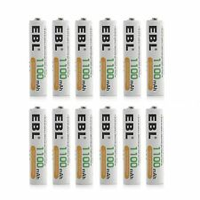 12x AAA 1100mAh NIMH Rechargeable Batteries For Flashlights MP3 Toys Camera