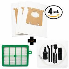 EL7063A UltraS 15 Vacuum Bags /& 1 Filter for Electrolux EL4100A Ergospace S-Bag