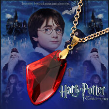 Free Shipping NEW Harry Potter Magic Stone Necklace Trendy Pendant Ruby 2018