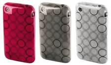 Hama SET 3x Silikon Skin Schutz-Hülle Tasche Case Cover für Apple iPhone 3G 3GS