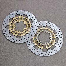 Front Brake Disc Rotors Fit for Triumph Daytona 600 650 675 Street Triple 675 R