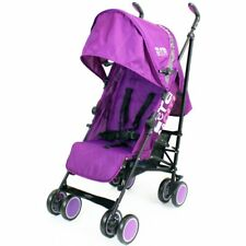 Zeta CiTi Stroller - Plum (Purple) Complete With Rain Covers