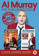 Al Murray: The Pub Landlord - Double Measures [DVD] Stand Up Collection New
