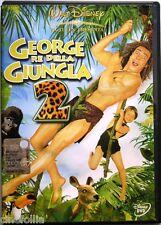 Dvd George Re della Giungla 2 - con Ologramma tondo Disney 2003 Usato