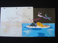 Lady Lovely Locks Original Animation Production Cel with drawing DiC C