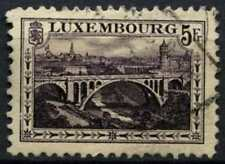 Luxembourg 1921-34 SG#208, 5f Deep Violet P11.5x11 Used #D63807