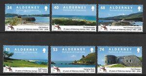ALDERNEY 2008 25th ANNIV OF ALDERNEY STAMPS  SG 342-347 SET 6 MNH
