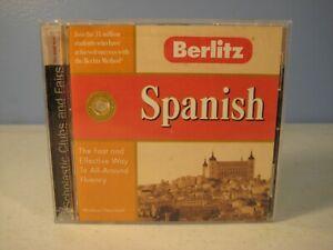 Berlitz Spanish Language Software CDROM for Windows 95, 98, Mac