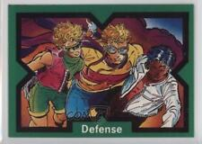 1991 Marvel X-Force #22 Defense Non-Sports Card 1k3