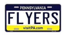 Metal Vanity License Plate Tag Cover - Philadelphia Flyers - Hockey Team