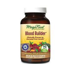 MegaFood Blood Builder, Energy Boosting Iron Supplement, 90 Tablets