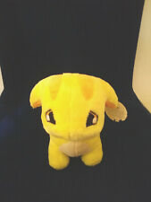Rare Neopets Yellow Poogle Plush 2006 with Tags