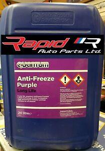 Quantum Si-oat Purple Antifreeze Coolant 20L 20 Litres Suitable for All Seasons
