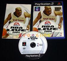 NBA LIVE 2004 Ps2 Versione Ufficiale Italiana 1ª Edizione ••••• COMPLETO