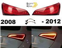 Für Audi Q5 8R 08-12 Led Rückleuchten Dynamische Blinker Laufblinker E-Zulassung