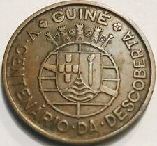 Portuguese Guinea-Bissau - Commemorative One Escudo - 1446-1946 - KM-7