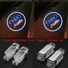 2X New LED Car Door Light Logo Courtesy Projector Ghost Laser Light For Audi All