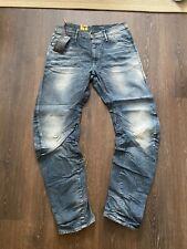 Mens G Star Raw Denim ARC LOOSE Tapered Blue Wash Jeans Size W34 L34