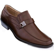 Adolfo Men's Slip On Dress Shoes Murphy-5 Dark Brown Size 13 US