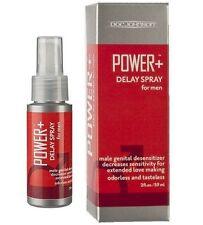 Doc Johnson POWER + Male Erection Delay Desensitizing Spray Increase Stamina