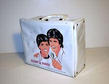 Donny & Marie (short hair) -  vintage vinyl lunchbox