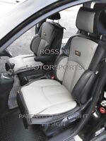 TO FIT A PEUGEOT 208 CAR, SEAT COVERS, YS01 RECARO SPORTS, GREY / BLACK