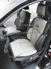 TO FIT A MITSUBISHI ASX CAR, SEAT COVERS, YS01 RECARO SPORTS, GREY / BLACK