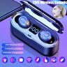 Wireless Bluetooth 5.0 Headphones TWS Mini Earbuds Earphones For iPhone Samsung