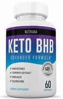 KETO BHB Advanced Weight Loss Diet from NUTRIANA Shark Tank Keto Pills