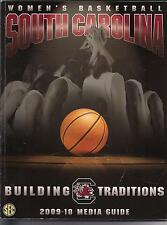 2009-10 U of South Carolina Women's Basketball Media Guide