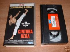 "ARTI MARZIALI  VHS film  DON "" THE DRAGON ""   WILSON in  CINTURA NERA"