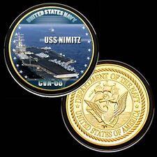 U.S. Navy USS Nimitz (CVN-68) GP Challenge Coin 147