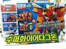 Takara GaoGaiGar The Brave Command Fire Dagwon & Power Dagwon Daguon STD