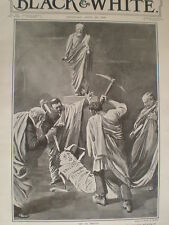 Labour party as Brutus to the Education Bill 1906 Charles Sheldon cartoon print