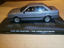 AUDI 200 QUATTRO THE LIVING DAYLIGHTS JAMES BOND 007 DeAGOSTINI IXO 1:43