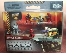 Megabloks Halo Universe Metal Series Battle Pack 3 Brand new 97036 set