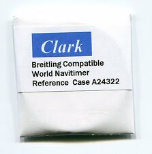 """Clark"" Sapphire crystal for Breitling World Navitimer case # A24322 42.2 mm"