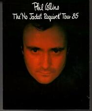 CPH28017 Phil Collins No Jacket Required 1985 Japan Tour Book Concert Program