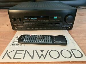 Kenwood A-85 Stereo Integrated 5.1 Channel AV Amplifier HiFi Separate & Remote