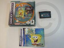 Nintendo Advance Game Spongebob, Neutron 2 in 1 OVP, USED BUT GOOD