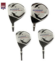 AGX MEN'S MAGNUM XS LEFT HAND FAIRWAY WOODS SET: #3, 5, 7 & 9 GRAPHITE SHAFTS