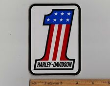 1970's HARLEY-DAVIDSON STICKER Decal XR750 XLCH1000 XL1000 FX1200 FLH1200