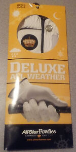 ALLSTAR FOWNES DELUXE ALL WEATHER GOLF GLOVE LADIES (CABRETTA PALM & THUMB)