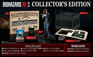 PS4 Resident Evil BIOHAZARD RE:2 Z Version COLLECTOR'S EDITION Capcom Japan New