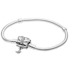 NEW Genuine PANDORA Bracelet 597929CZ Butterfly Lock Size 20 CZ With Pouch