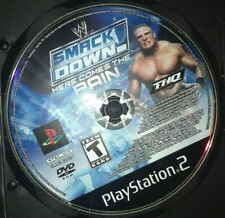 WWE smackdown Here Comes The Pain PS2 ( DISC ONLY)