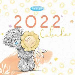 Me To You, Classic Calendar 2022 - Art - Month To View