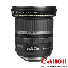 Canon EF-S 10–22mm f/3.5–4.5 USM ***USA AUTHORIZED***